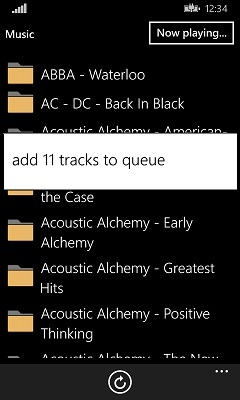 Add tracks